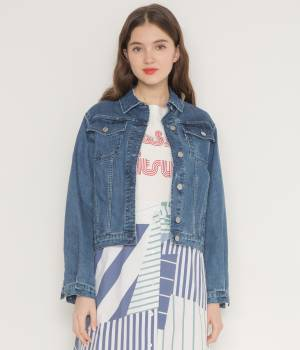 MAISON KITSUNÉ PARIS WOMEN - メゾン キツネ ウィメン | DENIM JACKET