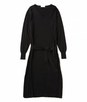 ADAM ET ROPÉ FEMME - アダム エ ロペ ファム | FEMME&HOMME 【 ilk ADAM ET ROPE'】LONG DRESS