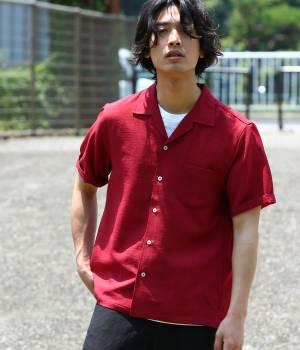 JUNRed - ジュンレッド | ドライタッチオープンカラーシャツ