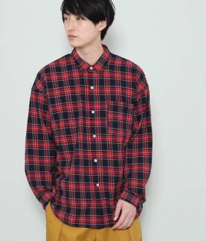 JUN SELECT - ジュンセレクト   【予約】【RYUJI KAMIYAMA×JUNRed】ビッグチェックシャツ