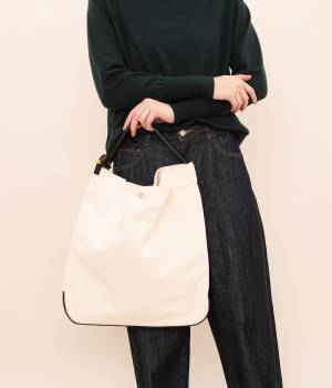 SALON adam et ropé WOMEN - サロン アダム エ ロペ ウィメン | 【joe&him】CANVASS  ONEHANDLE BAG (M)