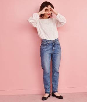ViS - ビス | 【chuu☆ViS EDITION】-5kgJEANS ボーイフレンドデニムパンツ