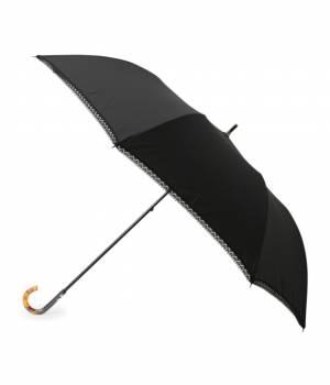 ViS - ビス | 【晴雨兼用】無地裾レースショートワイド傘