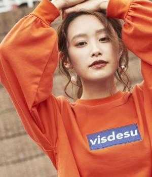 ViS - ビス | 【予約】【ViS×高橋愛】ロゴ裏毛プルオーバー