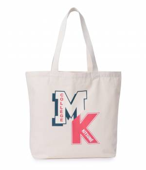 MAISON KITSUNÉ PARIS WOMEN - メゾン キツネ ウィメン | TOTE BAG MK COLLEGE