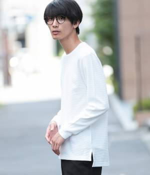 JUNRed - ジュンレッド | 【samuraiELO 11月号掲載】ワッフル長袖Tシャツ