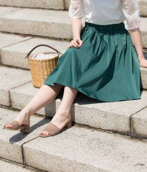 ADAM ET ROPÉ FEMME - アダム エ ロペ ファム | リバーシブルメモリースカート