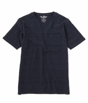 JUNRed - ジュンレッド | ジャガードエスニックボーダークルーTシャツ