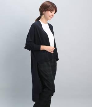 ViS - ビス   【MORE10月号掲載】ロングテールカーデ