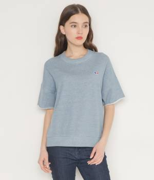 MAISON KITSUNÉ PARIS MEN - メゾン キツネ メン | JAPANESE SWEAT-SHIRT SHORT SLEEVES