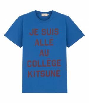 MAISON KITSUNÉ PARIS MEN - メゾン キツネ メン | TEE JE SUIS ALLE