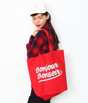 bonjour records - ボンジュールレコード | 【bonjour bonsoir】SMOOTH TOTE 17FW