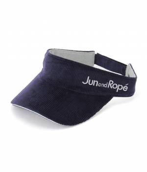 Jun and Ropé - ジュン アンド ロペ | 【Regina冬号掲載】コーデュロイサンバイザー