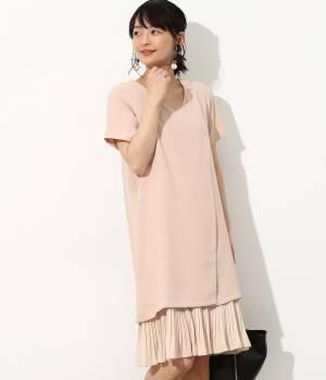 ViS - ビス | 裾プリーツワンピース
