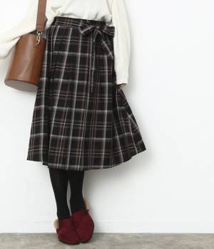 ViS - ビス | チェック柄スカート