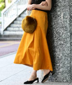 ROPÉ mademoiselle - ロペ マドモアゼル | 【先行予約】ストレッチコーデュロイマキシスカート