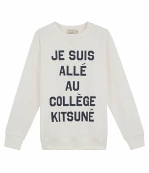 MAISON KITSUNÉ PARIS MEN - メゾン キツネ メン | Sweat JE SUIS ALLE