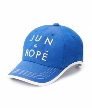 JUN&ROPÉ - ジュン アンド ロペ | ツイルカラーデニム配色キャップ