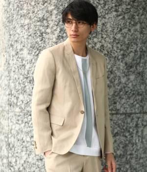 JUNRed - ジュンレッド | 【先行予約】レーヨンリネンセットアップジャケット