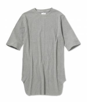 JUNRed - ジュンレッド | ワッフルロング5分袖Tシャツ