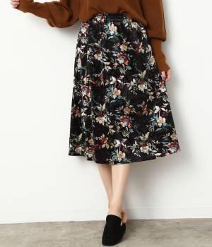 ViS - ビス | 【sweet10月号掲載】ベロアギャザースカート