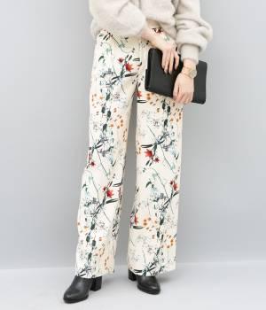 ADAM ET ROPÉ FEMME - アダム エ ロペ ファム | 【10%OFF Campaign】【AZU KIMURA×ADAM ET ROPE'】flower printed pants