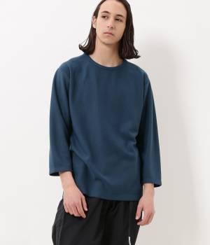 ADAM ET ROPÉ HOMME - アダム エ ロペ オム | 【予約】サーフニット切り替え7分袖Tシャツ
