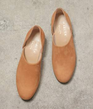 SALON adam et ropé WOMEN - サロン アダム エ ロペ ウィメン | 【店舗限定】HARUTA for SALON NUBUCK SPOCK SHOES
