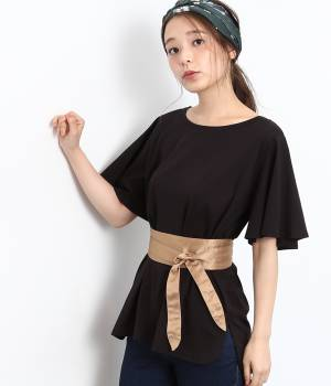 ROPÉ PICNIC - ロペピクニック | サッシュベルト付Tシャツ
