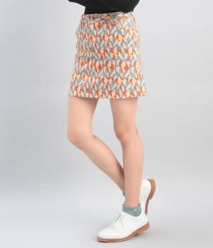 JUN&ROPÉ - ジュン アンド ロペ   【Regina冬号掲載】カモフラ柄プリントスカート