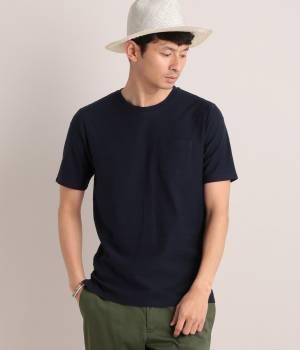 JUNRed - ジュンレッド   【今だけ!WEB店舗限定33%OFF】ジャガードナナメボーダークルーTシャツ