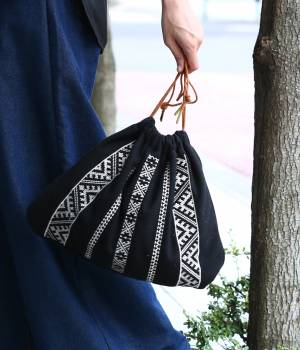 ViS - ビス   【先行予約】【WEB限定】【CASSELINI】エンブロイダリー巾着バッグ