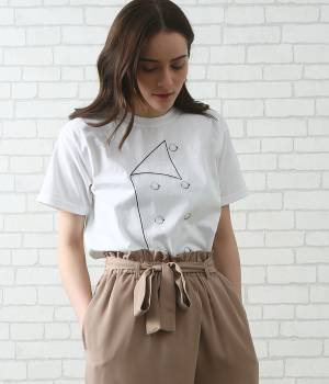 SALON adam et ropé WOMEN - サロン アダム エ ロペ ウィメン | 【LECHEF】prep t-shirt