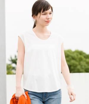 ADAM ET ROPÉ FEMME - アダム エ ロペ ファム   【先行予約】17SSフレンチスリーブTシャツ