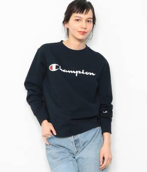 ADAM ET ROPÉ FEMME - アダム エ ロペ ファム | 【Champion】 CREW NECK LOGO SWEAT SHIRTS