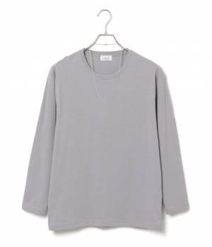 JUNRed - ジュンレッド | ナノファインクルー8分袖Tシャツ