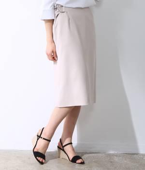 ROPÉ - ロペ | 【トールサイズ】サイドベルトスカート