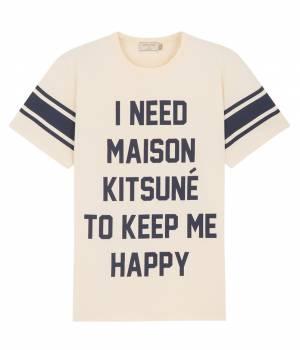 MAISON KITSUNÉ PARIS MEN - メゾン キツネ メン | TEE SHIRT I NEED