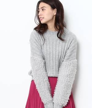 ViS - ビス | 袖ループ編みプルオーバー