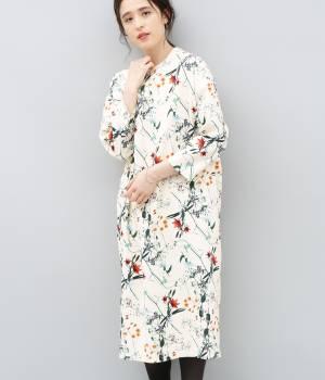 ADAM ET ROPÉ FEMME - アダム エ ロペ ファム | 【10%OFF Campaign】【AZU KIMURA×ADAM ET ROPE'】flower printed dress