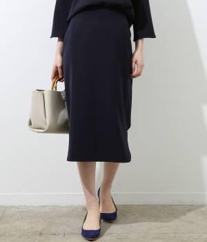 ROPÉ - ロペ | 【トールサイズ】ラウンドカットタイトスカート