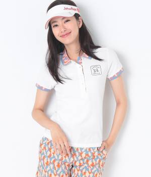 Jun and Ropé - ジュン アンド ロペ   カモフラ柄使いポロシャツ