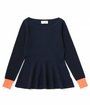 bonjour records - ボンジュールレコード | 【Bonjour Girl】FLARE KNIT TOPS