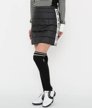 JUN&ROPÉ - ジュン アンド ロペ | 【軽量】【保温機能】異素材コンビダウンスカート