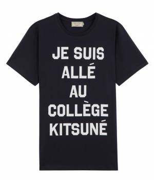 MAISON KITSUNÉ PARIS MEN - メゾン キツネ メン | PERM TEE JE SUIS ALL