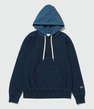 ADAM ET ROPÉ HOMME - アダム エ ロペ オム | 【予約】【Champion for ADAM ET ROPE' 】Exclusive Indigo Hoodie