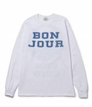 bonjour bonsoir - ボンジュールボンソワール | 【bonjour bonsoir】LNG SLV TEE TURU