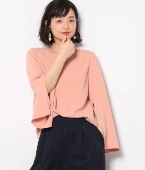ViS - ビス   【今だけ!WEB店舗限定10%OFF】羽根ネックレス付きフレア袖プルオーバー