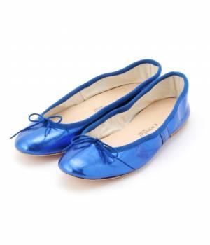 ADAM ET ROPÉ FEMME - アダム エ ロペ ファム | 【PORSELLI】 Metalic Ballet shoes