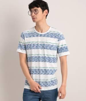 JUNRed - ジュンレッド | TIME SALE ITEM!カスリマルチボーダーリバーTシャツ